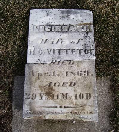 VITTETOE, LUCINDA J. - Keokuk County, Iowa | LUCINDA J. VITTETOE