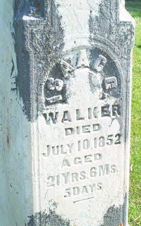 WALKER, ISAACC - Keokuk County, Iowa | ISAACC WALKER