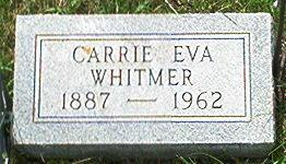 WHITMER, CARRIE EVA - Keokuk County, Iowa | CARRIE EVA WHITMER