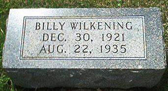 WILKENING, BILLY - Keokuk County, Iowa | BILLY WILKENING