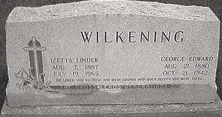 WILKENING, IZETTA - Keokuk County, Iowa | IZETTA WILKENING
