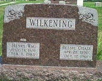 CHASE WILKENING, BESSIE - Keokuk County, Iowa | BESSIE CHASE WILKENING