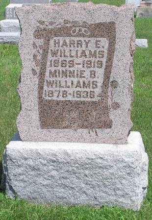 WILLIAMS, HARRY E. - Keokuk County, Iowa | HARRY E. WILLIAMS