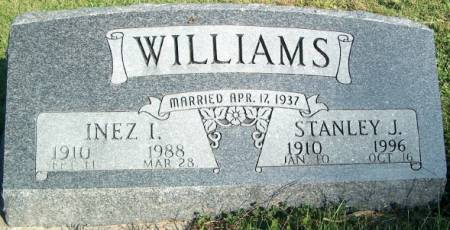 WILLLIAMS, INEZ IRENE - Keokuk County, Iowa | INEZ IRENE WILLLIAMS