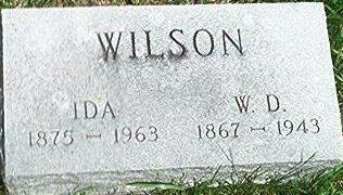 WILSON, IDA - Keokuk County, Iowa | IDA WILSON