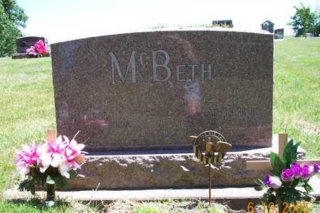 MCBETH, ARCHIE K - Keokuk County, Iowa | ARCHIE K MCBETH