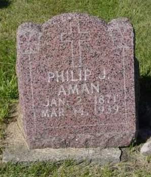 AMAN, PHILIP J. - Kossuth County, Iowa | PHILIP J. AMAN