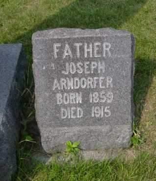 ARNDORFER, JOSEPH - Kossuth County, Iowa | JOSEPH ARNDORFER
