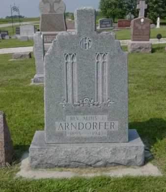 ARNDORFER, REV. ALOIS J. - Kossuth County, Iowa | REV. ALOIS J. ARNDORFER