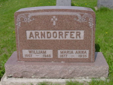 ARNDORFER, WILLIAM - Kossuth County, Iowa | WILLIAM ARNDORFER