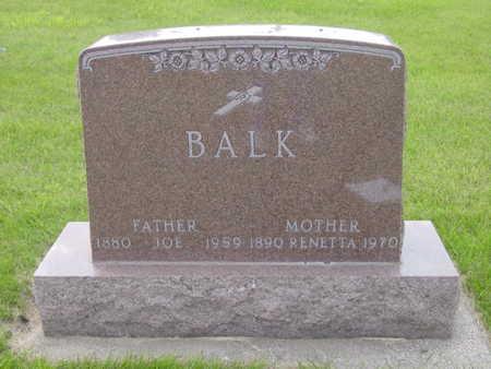 BALK, RENETTA - Kossuth County, Iowa | RENETTA BALK