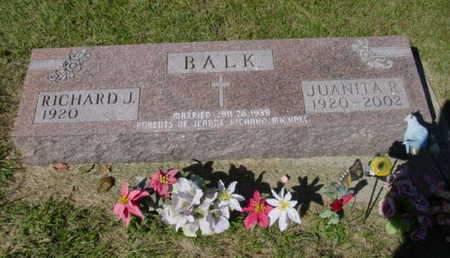 BALK, JUANITA R. - Kossuth County, Iowa   JUANITA R. BALK
