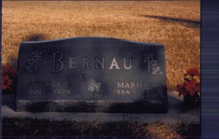 BERNAU, AUGUST - Kossuth County, Iowa | AUGUST BERNAU