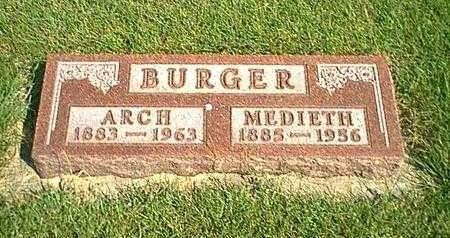 BURGER, ARCH - Kossuth County, Iowa | ARCH BURGER