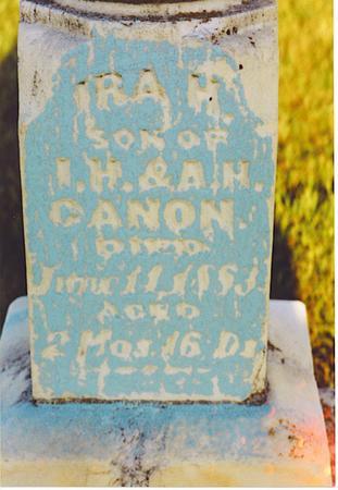 CANON, IRA - Kossuth County, Iowa | IRA CANON