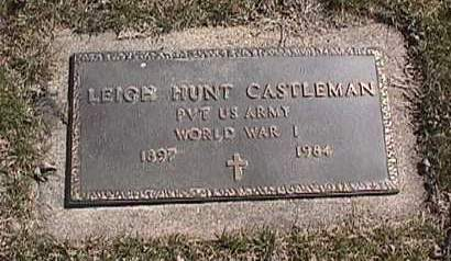CASTLEMAN, LEIGH HUNT - Kossuth County, Iowa | LEIGH HUNT CASTLEMAN