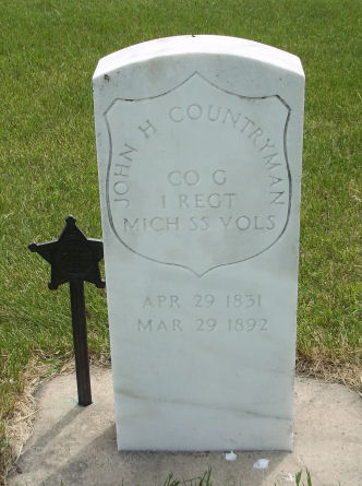 COUNTRYMAN, JOHN H - Kossuth County, Iowa | JOHN H COUNTRYMAN