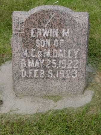 DALEY, ERWIN M. - Kossuth County, Iowa | ERWIN M. DALEY