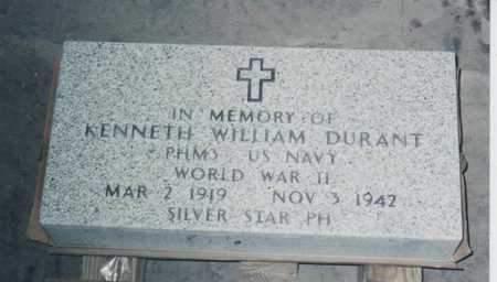 DURANT, KENNETH - Kossuth County, Iowa | KENNETH DURANT