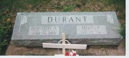 DURANT, MILO&DOROTHY - Kossuth County, Iowa | MILO&DOROTHY DURANT