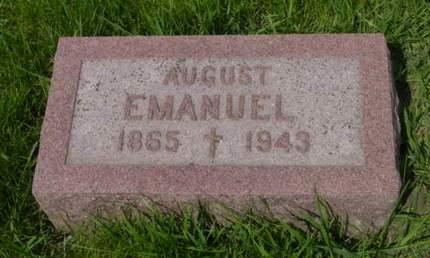 EMANUEL, AUGUST - Kossuth County, Iowa | AUGUST EMANUEL