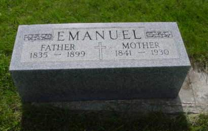 EMANUEL, CATHERINE - Kossuth County, Iowa | CATHERINE EMANUEL