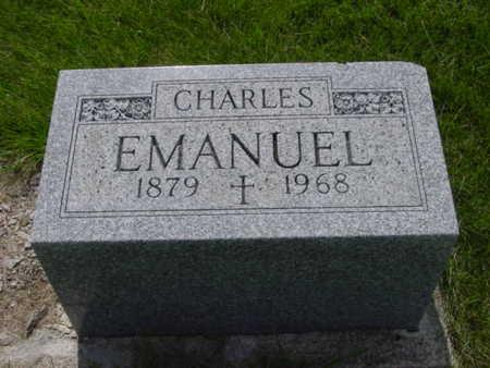 EMANUEL, CHARLES - Kossuth County, Iowa | CHARLES EMANUEL
