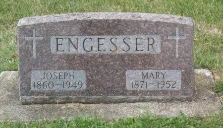 ENGESSER, MARY - Kossuth County, Iowa | MARY ENGESSER