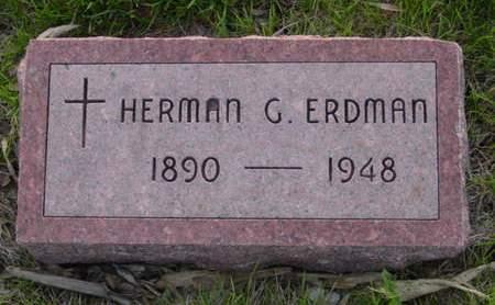 ERDMAN, HERMAN G. - Kossuth County, Iowa | HERMAN G. ERDMAN