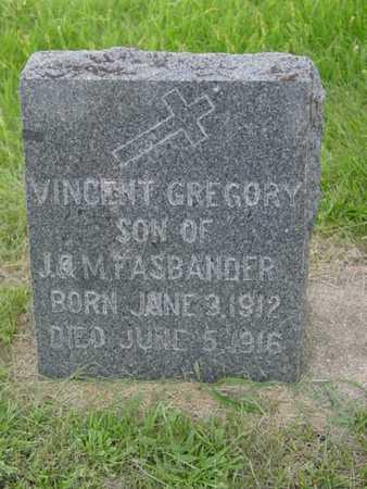 FASBANDER, VINCENT GREGORY - Kossuth County, Iowa | VINCENT GREGORY FASBANDER
