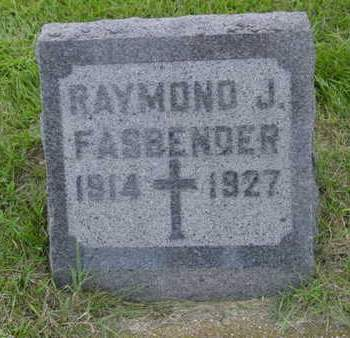 FASBENDER, RAYMOND J. - Kossuth County, Iowa | RAYMOND J. FASBENDER