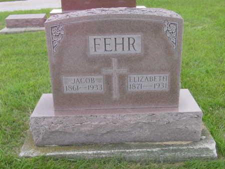 FEHR, JACOB - Kossuth County, Iowa   JACOB FEHR