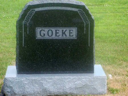 GOEKE, FAMILY HEADSTONE - Kossuth County, Iowa | FAMILY HEADSTONE GOEKE