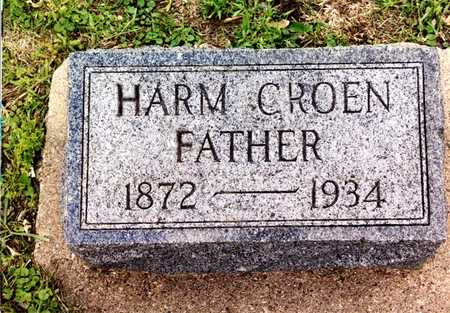 GROEN, HARM - Kossuth County, Iowa | HARM GROEN