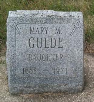 NEMMERS GULDE, MARY M. - Kossuth County, Iowa | MARY M. NEMMERS GULDE