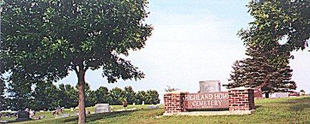 HIGHLAND HOME, CEMETERY - Kossuth County, Iowa | CEMETERY HIGHLAND HOME