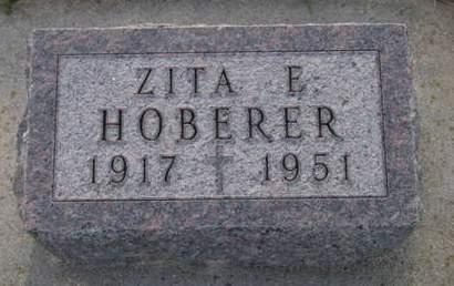 HOBERER, ZITA E. - Kossuth County, Iowa | ZITA E. HOBERER