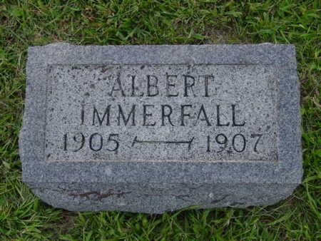 IMMERFALL, ALBERT - Kossuth County, Iowa | ALBERT IMMERFALL