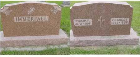 IMMERFALL, PHILIP F. - Kossuth County, Iowa | PHILIP F. IMMERFALL