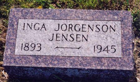 JORGENSON JENSEN, INGA - Kossuth County, Iowa | INGA JORGENSON JENSEN