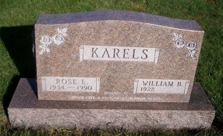 CORDES KARELS, ROSE E. - Kossuth County, Iowa   ROSE E. CORDES KARELS