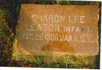 LEASON, SHARON LEE - Kossuth County, Iowa   SHARON LEE LEASON