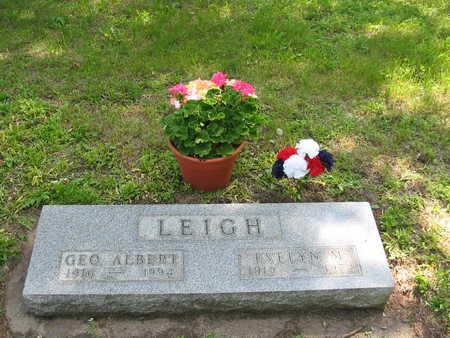 LEIGH, GEO ALBERT - Kossuth County, Iowa | GEO ALBERT LEIGH