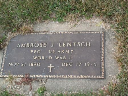 LENTSCH, AMBROSE J. - Kossuth County, Iowa | AMBROSE J. LENTSCH