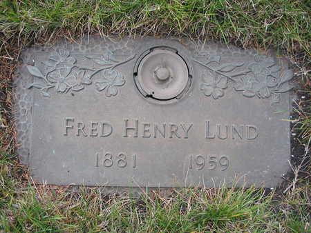 LUND, FRED - Kossuth County, Iowa | FRED LUND