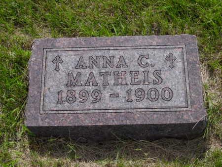 MATHEIS, ANNA C. - Kossuth County, Iowa   ANNA C. MATHEIS