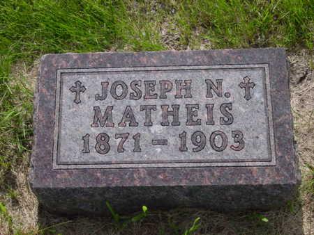 MATHEIS, JOSEPH N. - Kossuth County, Iowa | JOSEPH N. MATHEIS
