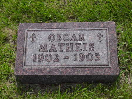 MATHEIS, OSCAR - Kossuth County, Iowa | OSCAR MATHEIS