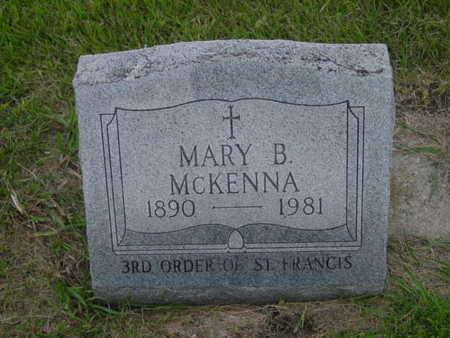 MCKENNA, MARY B. - Kossuth County, Iowa | MARY B. MCKENNA