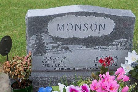 SMITH MONSON, VIVIAN M - Kossuth County, Iowa   VIVIAN M SMITH MONSON